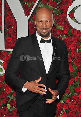 NEW YORK, NY - JUNE 12: Common at the 70th Annual Tony Awards at The Beacon Theatre on June 12, 2016 in New York City. Credit: John Palmer/MediaPunch