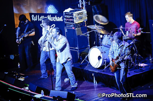 Red Letter Merchant in concert at Voodoo Lounge of Harrah's Casino during local music marathon in St. Louis on Feb 26, 2010.