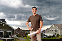 Arcadia Builders / Domenico D'Auria photographed for The Ivy Group June 13, 2013. Photo/Andrew Shurtleff