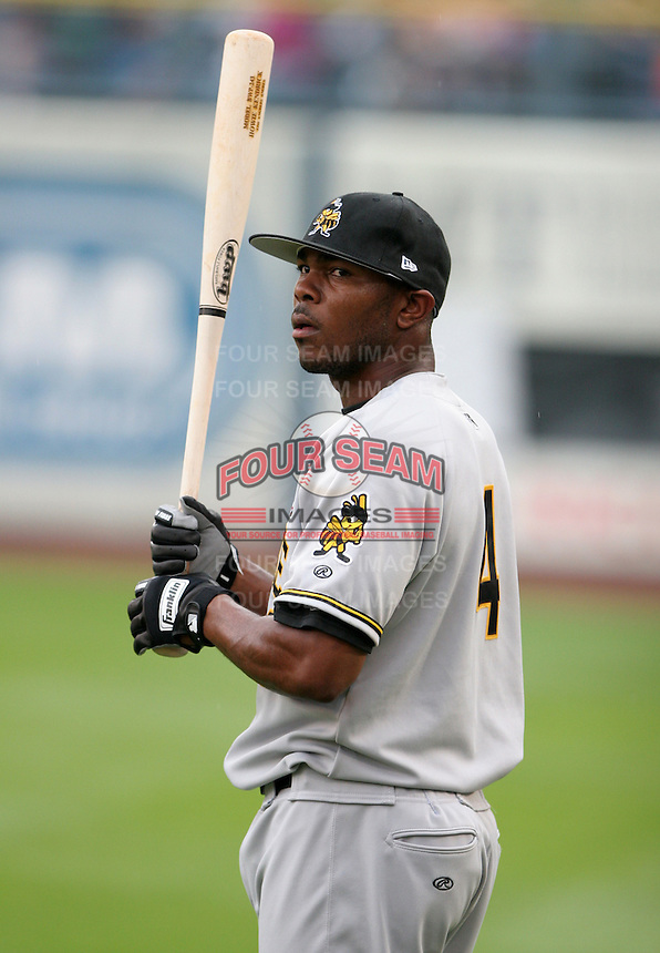 Salt Lake Bees Howie Kendrick #4 during practice before the Triple-A All-Star Game at Fifth Third Field on July 12, 2006 in Toledo, Ohio.  (Mike Janes/Four Seam Images)