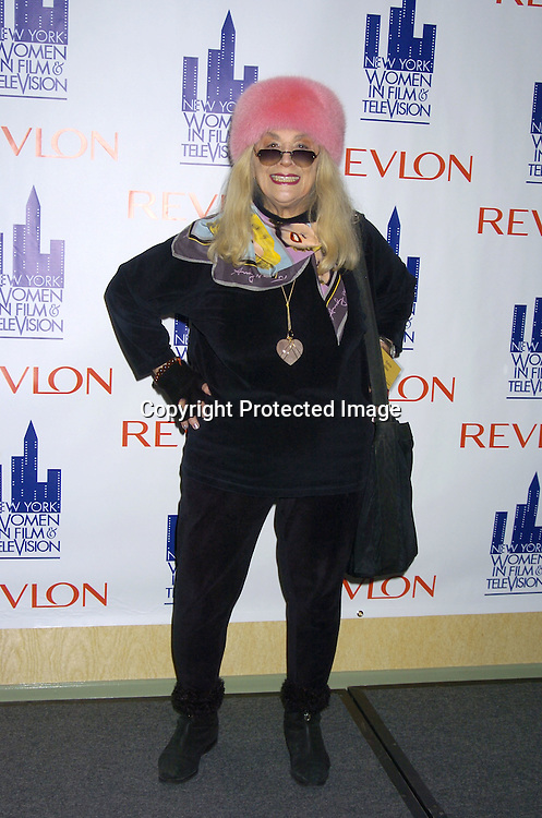 Sylvia Miles..at The New York Women in Film and Television 2004 Muse Awards Luncheon on Dec 16, 2004 at the New York Hilton Hotel. Lucci, Sweeney, Grant and Zea were honored. ..Photo by Robin Platzer, Twin Images