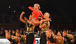 """09.11.2019,  GER; Tanzen, 1. Bundesliga der Lateinformationen, Deutsche Meisterschaften, Finale, im Bild 1.TSZ Velbert A mit dem Titel """"No limit"""" Foto © nordphoto/ Witke"""