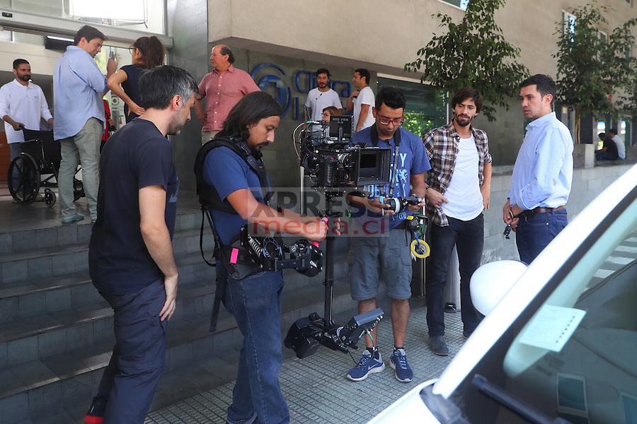 """19 Diciembre 2016, Santiago-Chile. Escena de la película """"Swing"""" del director Luis Smok ©Ernesto Zelada - Xpress Media"""