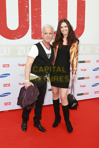 HAMBURG, GERMANY - MAY 05: Nino de Angelo , Claudia Ehlert attends the German premiere of the film 'Zulu' at Cinemaxx on May 5, 2014 in Hamburg, Germany. <br /> CAP/AAP/HAR<br /> &copy;HAR/AAP/Capital Pictures