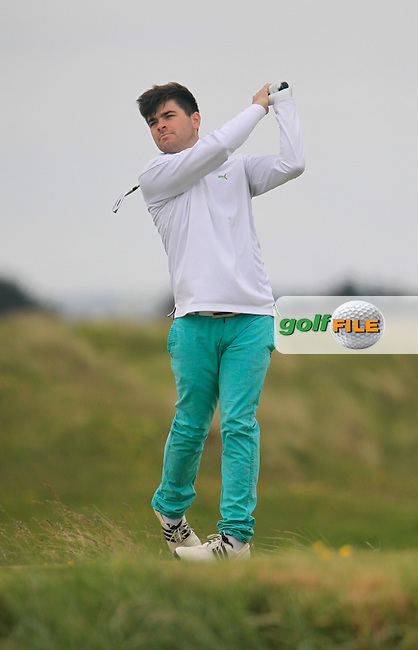 Kelan McDonagh (Athlone)<br /> during R1 of the East of Ireland Amateur Open championship 2013 at Co Louth Golf club, 1/6/13<br /> Picture:  Thos Caffrey / www.golffile.ie
