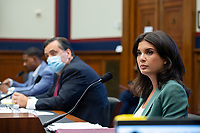 U.S. Correspondent for Seven News Australia Amelia Brace is seen during a hearing on Monday, June 29, 2020 to discuss the recent incident with U.S. Park Police removing protesters and journalists on June 1st at St. John's Episcopal Church near the White House for President Trump to conduct a photo op.<br /> Credit: Bonnie Cash / Pool via CNP / MediaPunch
