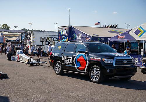 NHRA Mello Yello Drag Racing Series<br /> Dodge NHRA Nationals<br /> Maple Grove Raceway<br /> Reading, PA USA<br /> Sunday 24 September 2017 Antron Brown, Matco Tools, top fuel dragster<br /> <br /> World Copyright: Mark Rebilas<br /> Rebilas Photo