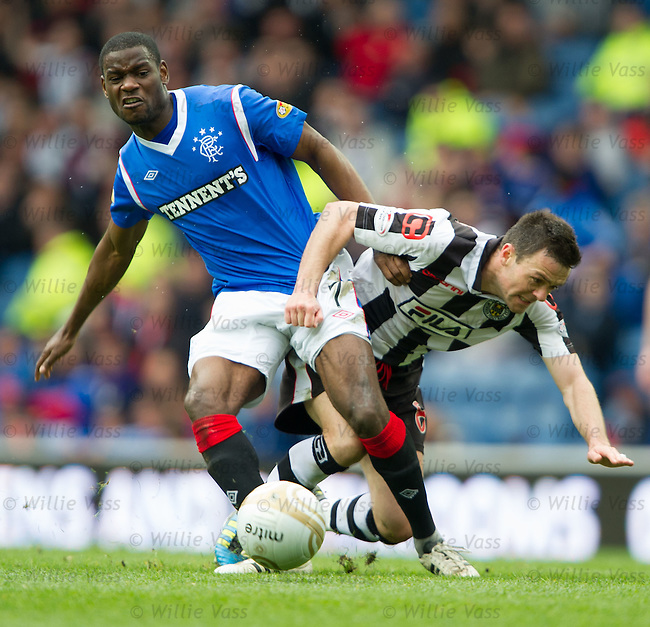 Maurice Edu and Steven Thomson