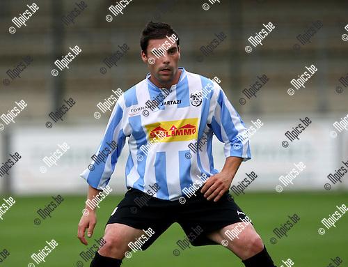 2008-08-09 / Voetbal / seizoen 2008-2009 / Verbroedering Geel-Meerhout / Philippe Gilissen..Foto: Maarten Straetemans (SMB)