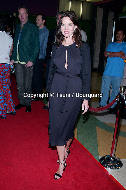 Sarah Buxton arriving at the premiere of 'Y Tu Mama Tambien' at the Regent Showcase Theatre in Los Angeles. March 12, 2002.