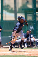 7-25-2009: Jose Mojica of the Gulf Coast League Yankess during the game in Orlando, Florida. The GCL Yankees are the Rookie League affiliate of the New York Yankees. Photo By Scott Jontes/Four Seam Images