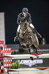Roger-Yves Bost of France riding Tesway de la Batia competes during the AsiaWorld-Expo Trophy, part of the Longines Masters of Hong Kong on 11 February 2017 at the Asia World Expo in Hong Kong, China. Photo by Victor Fraile / Power Sport Images