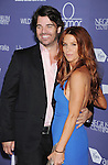 CENTURY CITY, CA - JUNE 27: Poppy Montgomery and Shawn Sanford arrive at the 8th Annual Australians In Film Breakthrough Awards & Benefit Dinner at InterContinental Hotel on June 27, 2012 in Century City, California.