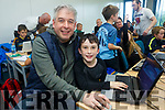 Enjoying Tralee CoderDoJo at Tralee ITT on Saturday were John Herlihy and Peter Herlihy