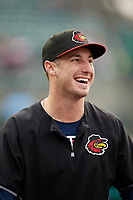 Rochester Red Wings Brent Rooker during an International League game against the Buffalo Bisons on May 31, 2019 at Frontier Field in Rochester, New York.  Rochester defeated Buffalo 5-4 in ten innings.  (Mike Janes/Four Seam Images)