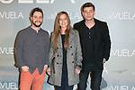 """El Mundo de Murphy attends Claudia´s Llosa """"No Llores Vuela"""" movie premiere at Callao Cinema, Madrid,  Spain. January 21, 2015.(ALTERPHOTOS/)Carlos Dafonte)"""