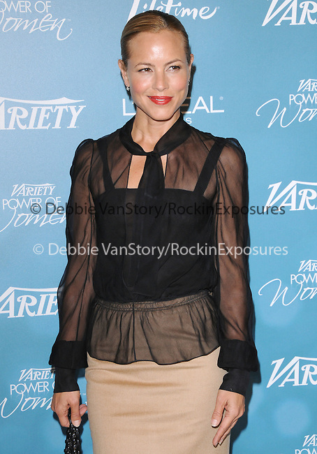 Maria Bello at Variety's 2nd Annual Power of Women Luncheon held at The Beverly Hills Hotel in Beverly Hills, California on September 30,2010                                                                               © 2010 Hollywood Press Agency