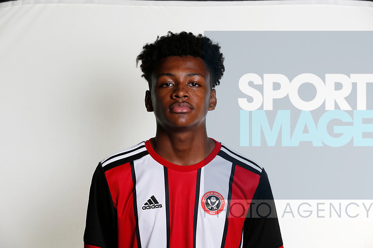 Donae Lawrence cademy photocall at the Steelphalt Academy, Sheffield. Picture date 22nd August 2017. Picture credit should read: Simon Bellis/Sportimage