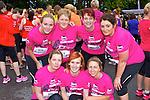 Ann Collins, Linda O'Sullivan, Roseanne Daly. Back row: Megan dunne, Doreen Dunne, Sheila Leen and Michelle Corr Kilmoyley ladies on the run at the Killarney Ladies mini marathon on Saturday