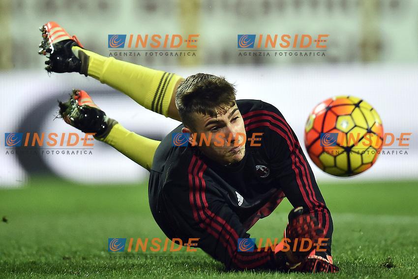 Alessandro Livieri Milan <br /> Modena 06-12-2015 Stadio Braglia Football Calcio 2015/2016 Serie A Carpi - Milan Foto Andrea Staccioli / Insidefoto