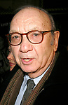 Neil Simon arriving for the Opening Night Performance of Eugene O'Neill's A MOON FOR THE MISBEGOTTEN at the Brooks Atkinson Theatre in New York City.<br />