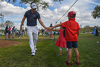Martin Kaymer (GER) makes two young fans' day on his way to the tee on 8 during round 3 of the Arnold Palmer Invitational at Bay Hill Golf Club, Bay Hill, Florida. 3/9/2019.<br /> Picture: Golffile | Ken Murray<br /> <br /> <br /> All photo usage must carry mandatory copyright credit (&copy; Golffile | Ken Murray)