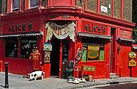England, London: 86 Portobello Road, Alice's Antiques   United Kingdom, London: 86 Portobello Road, Alice's Antiques