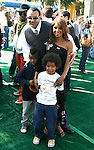 """WESTWOOD, CA. - October 26: Singer Toni Braxton and family arrive at the premiere of Dreamworks' """"Madagascar: Escape 2 Africa"""" at the Mann Village Theater on October 26, 2008 in Los Angeles, California."""