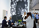 MIAMI BEACH, FL - DECEMBER 04: Artwork by Zanele Muholi is displayed at the Stevenson Gallery during Art Basel Miami Beach on December 4, 2019 in Miami Beach, Florida. Art Basel represents over 250 art galleries onsite at the Miami Beach Convention Center. It is considered one of the world's largest art festivals and has art events throughout the city.  ( Photo by Johnny Louis / jlnphotography.com )