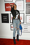 Singer and actress Teyana Taylor hosts the press preview for KISS Products' first ever Pop Up Beauty Bar in New York City on September 28, 2017.