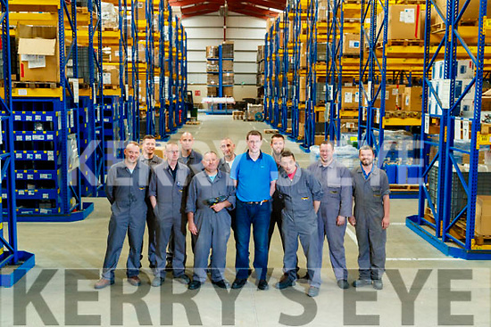 Mariusz Tarasiuk, Marcin Przepióra, Brendan Brew, Stephen Hickey, Barry Godley, John Casey, Adam White, Diarmuid Wall, Sean Reidy and Mark Griffin, Spares department, Dairymaster, Causeway.