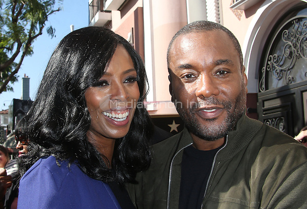 "Hollywood, CA - DECEMBER 02: Tasha Smith, Lee Daniels, At Lee Daniels Honored With Star On The Hollywood Walk Of Fame"" At Pacific Theatres at the Hollywood Walk Of Fame, California on December 02, 2016. Credit: Faye Sadou/MediaPunch"