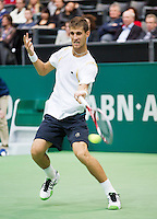 14-02-13, Tennis, Rotterdam, ABNAMROWTT, Martin Klizan