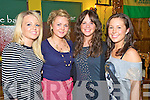 Enjoying the X Factor competition in The Failte Bar, Killarney, on Friday night were Norette Sheehan, Joanne O'Connor, Niamh Fleming and Marie Donnelly, Gneeveguilla.