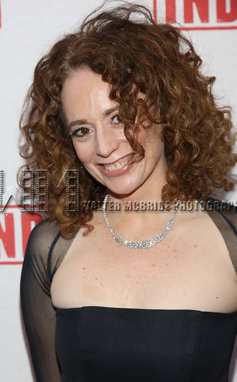 Rebecca Taichman attends the Broadway Opening Night Performance of  'Indecent' at The Cort Theatre on April 18, 2017 in New York City.