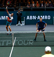 Rotterdam, The Netherlands, 14 Februari 2020, ABNAMRO World Tennis Tournament, Ahoy, Doubles: Jamier Murray (GBR) and Neal Skypski (GBR). <br /> Photo: www.tennisimages.com