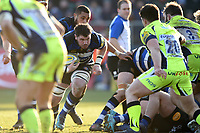 James Phillips of Bath Rugby in possession. Aviva Premiership match, between Bath Rugby and Sale Sharks on February 24, 2018 at the Recreation Ground in Bath, England. Photo by: Patrick Khachfe / Onside Images