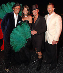 Chairs Erin and Nick Florescu, Shannon Hall and Marcus Sloan  at the Orange Show Gala at Adickes SculpturWorx Studio  Saturday  Nov. 03,2007.(Dave Rossman/For the Chronicle)