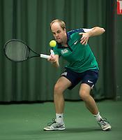 Rotterdam, Netherlands, Januari 28, 2017, ABNAMROWTT, Supermatch, Sebastiaan Schijf<br /> Photo: Tennisimages/Henk Koster
