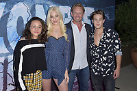 Breanna Yde, Jennifer Jacobson, Ian Ziering und Ricardo Hurtado at the premiere of SyFy TV-Film Zombie Tidal Wave at the Garland Hotel in Los Angeles, California August 12, 2019. Credit: Action Press/MediaPunch ***FOR USA ONLY***