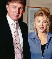 Donald Trump Marla Trump Undated<br /> Photo By Adam Scull/PHOTOlink.net