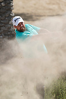 Shane Lowry (IRL) in action during the third round of the Omega Dubai Desert Classic, Emirates Golf Club, Dubai, UAE. 26/01/2019<br /> Picture: Golffile | Phil Inglis<br /> <br /> <br /> All photo usage must carry mandatory copyright credit (© Golffile | Phil Inglis)
