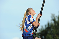 FIERJEPPEN: BUITENPOST: 28-07-2017, FLB topklasse wedstrijd, Sigrid Bokma, ©foto Martin de Jong
