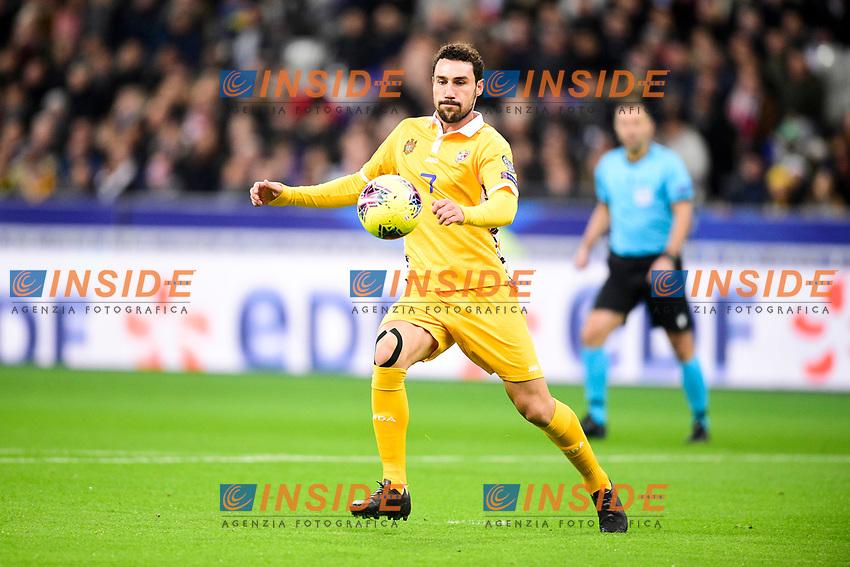 Artur Ionita (Mda) <br /> Paris 20191114 Stade De France  <br /> Football France - Moldavia <br /> Qualification Euro 2020 <br /> Foto JB Autissier / Panoramic/Insidefoto <br /> ITALY ONLY