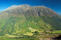 Glen Nevis and Ben Nevis from Dun Deardail, Lochaber