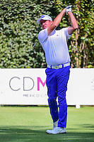 Scott Hend (AUS) watches his tee shot on 3 during round 1 of the World Golf Championships, Mexico, Club De Golf Chapultepec, Mexico City, Mexico. 3/2/2017.<br /> Picture: Golffile | Ken Murray<br /> <br /> <br /> All photo usage must carry mandatory copyright credit (&copy; Golffile | Ken Murray)