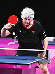 Ian Kent competes in mens table tennis at the 2019 ParaPan American Games in Lima, Peru-22aug2019