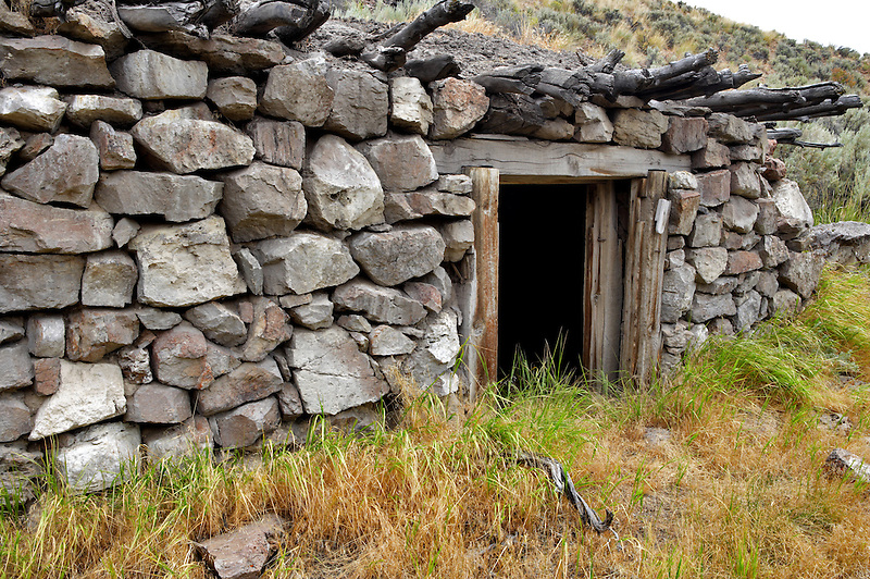 Toolhouse cabin. Black Rock Desert National Conservation Area. Nevada