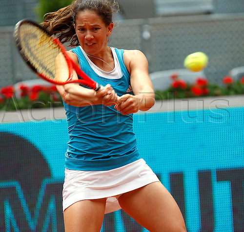 13 05 2010  Cullen Madrid Spain 13th May 2010 Patty  SUI in Action during The 3rd Round Women Mutua Madrilena Madrid Open Tennis Tournament AT The Caja Magica Madrid Spain