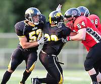 The Madison Mustangs take on the Muskego Hitmen at Breitenbach Stadium in Middleton, Wisconsin on Saturday, August 1, 2009